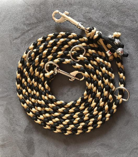 Paracord Leine Gold